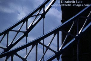 Some detail of the structure of Tower Bridge (copyright Elizabeth Buie)