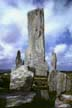 Central standing stone and burial chamber, Callanish, Isle of Lewis