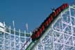 Swamp Fox roller coaster, Grand Strand Park, Myrtle Beach, South Carolina