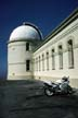 Motorcycle at Lick Observatory, San Jose, California